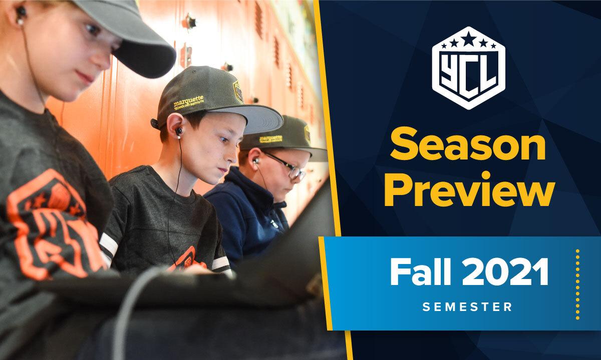Fall 2021 Youth Coding League Season Preview